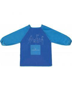 Sort pentru pictura albastru, copii 6-10 ani, Faber-Castel