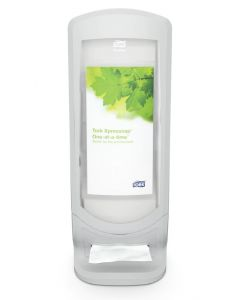 Dispenser din plastic gri deschis pentru servetele de masa Xpressnap, Tork 272213