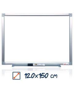 Whiteboard magnetic, 120cm x 150cm, Visual