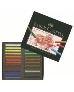 Creioane pastel, 24culori/set, Polychromos Pastels, Faber Castell