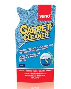 Rezerva detergent pentru toate tipurile de covoare, mochete, tapiterii, 500ml, Carpet Sano