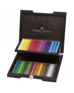 Creioane colorate, in cutie lemn, 72culori/set, Acuarela, A.Durer, Faber Castell