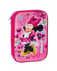 Penar neechipat, 1 fermoar,  3D Minnie Mouse