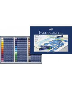 Creioane ulei pastel, 36culori/set, Faber Castell