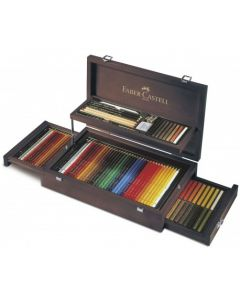 Creioane colorate, in cutie colectie, 126 piese/set, Art&Graphic, Faber Castell