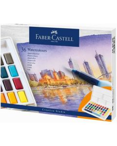 Acuarele pe baza de apa, 36culori/set, Creative Studio, Faber Castell