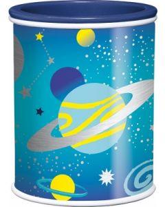 Ascutitoare dubla cu rezervor albastra Cosmic Kids Maped