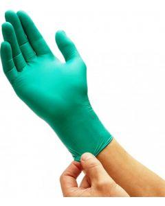Manusi examinare din nitril, nepudrate, verde, marimea M, 100 buc/set