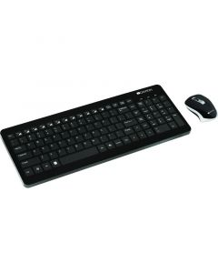 Kit tastatura fara fir si mouse fara fir, CNS-HSETW3-US, Canyon