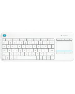 Tastatura fara fir, alb, Touch Keyboard K400 Plus Logitech