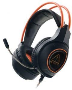 Casti on-ear, negru/portocaliu, cu fir, CND-SGHS7, Gaming Nightfall Canyon