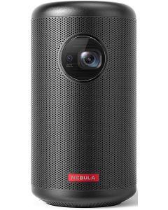 Videoproiector cu difuzor, portabil, DLP, 200 lumeni, HD, Nebula Capsule II Anker
