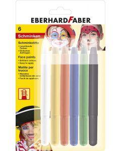 Creion retractabil pictura pentru fata, 6buc/set, Eberhard Faber