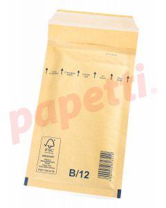 Plic anti-soc, kraft, siliconic, ext./int. 140x225mm/115x215mm B/12