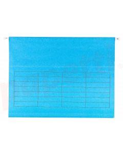 Dosar suspendabil, albastru, Verticflex Elba
