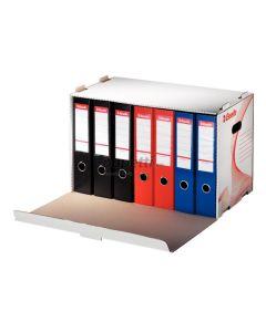 Container arhivare bibliorafturi, cu deschidere frontala, 525x338x306 mm, Esselte