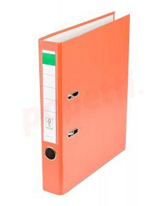 Biblioraft plastifiat 5cm, portocaliu, Benson