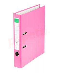Biblioraft plastifiat 5cm, roz, Benson