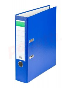 Biblioraft plastifiat 7,5cm, albastru, Benson