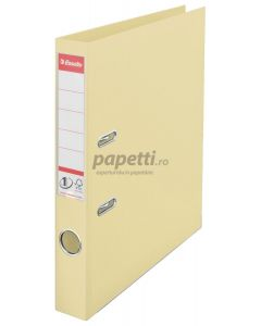 Biblioraft plastifiat exterior/interior 5cm, scoica, Nr.1 Power Esselte
