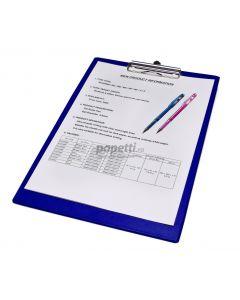 Clipboard simplu albastru A4, NNB