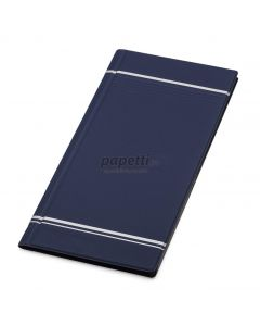 Clasor pentru carti vizita albastru A4/2, 4/pagina, Visifix 858107 Durable
