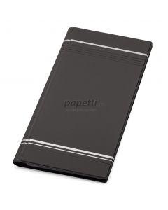 Clasor pentru carti vizita negru A4/2, 4/pagina, Visifix 858158 Durable