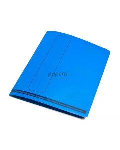 Dosar cu sina carton albastru, Benson