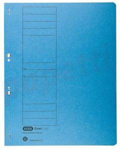 Dosar de incopciat cu capse 1/1, carton albastru, Elba