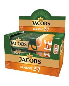 Cafea Jacobs 3 in 1 Classic, 24 bucati x15g