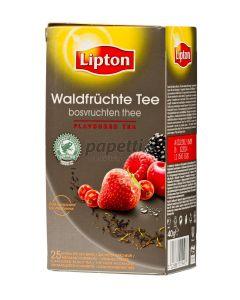 Ceai negru cu aroma de fructe de padure, 25plicuri/cutie, Lipton