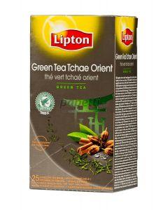 Ceai verde cu arome orientale, 25plicuri/cutie, Lipton Tchae Orient