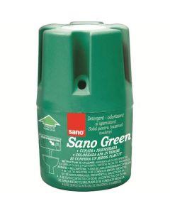 Odorizant solid pentru bazinul toaletei, 150g, Green Sano