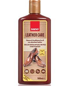 Solutie pentru curatat articole din piele, 500ml, Leather Care Sano