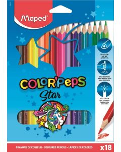Creioane colorate 18culori/set, Color Peps Maped