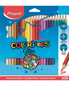 Creioane colorate 24culori/set, Color Peps Maped