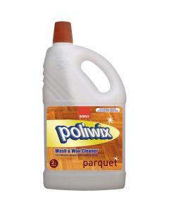 Detergent cu ceara pentru suprafete din lemn si alte suprafete delicate, 2L, Poliwix Parquet Sano