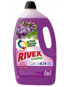 Detergent pentru orice tip de pardoseli, 4L, Casa Floral Rivex