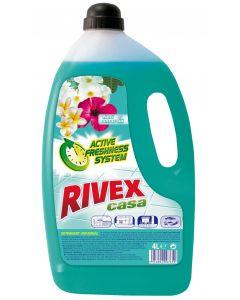 Detergent pentru orice tip de pardoseli, 4L, Casa Flori Smarald Rivex