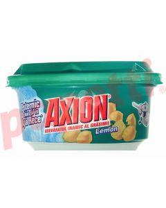 Detergent pasta pentru vase, parfum lamaie, 225g, Axion