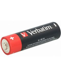 Baterie alcalina, cilindrica, R6, AA, 49875 Verbatim