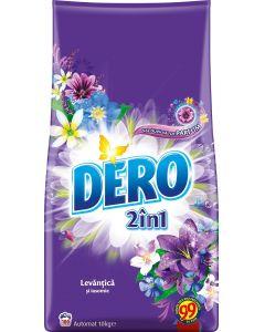 Detergent pudra pentru tesaturi, automat, 10kg, 2in1 Levantica si Iasomie Dero