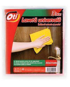 Lavete universale, 35x31cm, 3buc/set, Oti