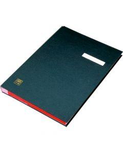 Mapa pentru semnaturi 20 file, negru, Elba