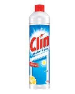 Rezerva detergent geamuri, oglinzi, 500ml, Lemon Clin
