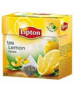 Ceai verde cu lamaie, 20plicuri/cutie, Lipton Pyramid