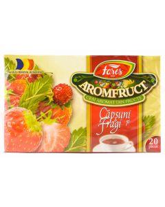 Ceai Fares capsuni si fragi, 20plicuri/cutie