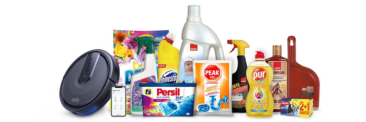Produse de curatenie pentru orice casa