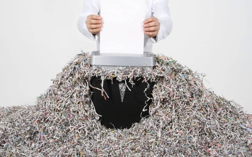 Distrugatoare de documente. Ghid complet.