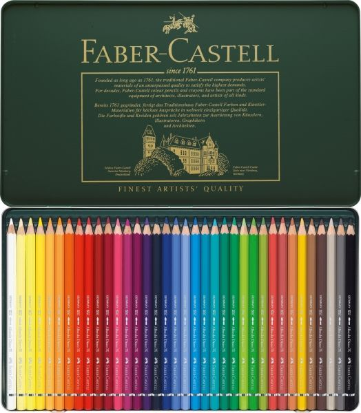 creioane colorate acuarela faber castell